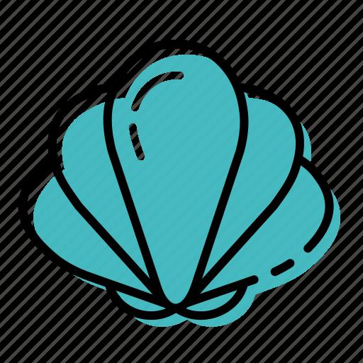 clam, marine, ocean, sea, shell icon