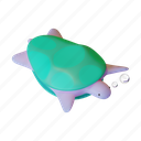 sea, turtle, ocean, life, animal, shell, nature