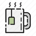 break, business, cup, drink, office, tea mug icon