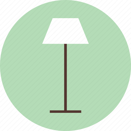 home, interior, lamp, light icon
