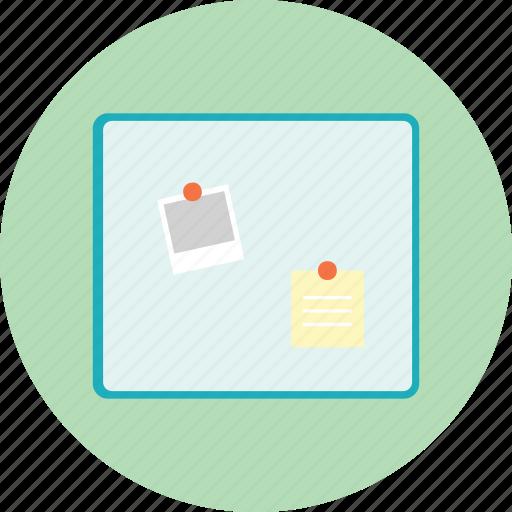 board, business, frame, memo, presentation, sign icon