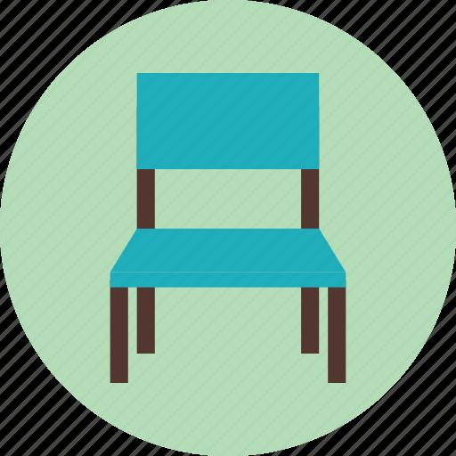 chair, furniture, interior, school, seat icon