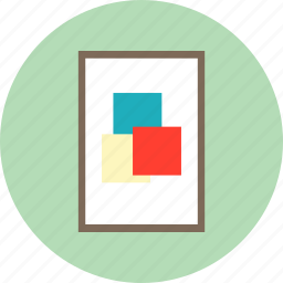 frame, image, interior, photo frame, picture icon