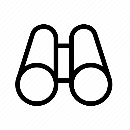 binocular, find, search, spyglass, view icon