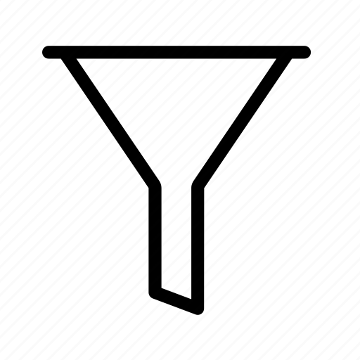 conversion, filter, funnel, sort, tools icon
