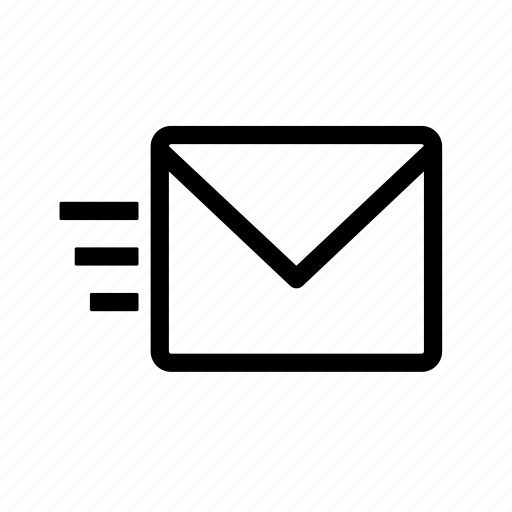 email, envelope, letter, mail, message, sent icon
