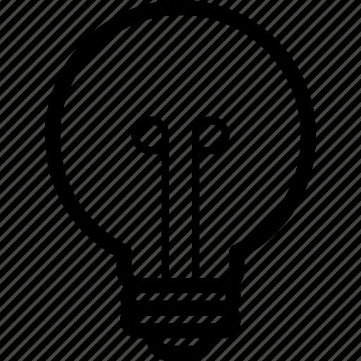 bulb, creative, electric, energy, idea, light, lightbulb icon