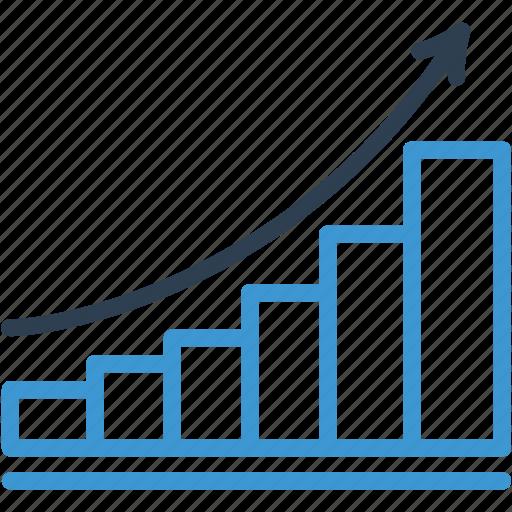 analysis, analytics, chart, graph, growth, report, statistics icon icon