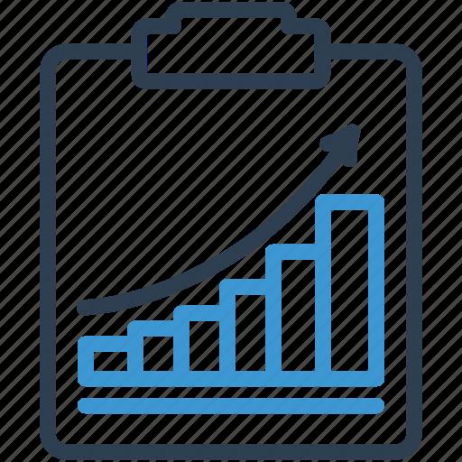 analytics, chart, metrics, performance, report, statistics icon
