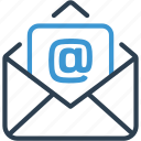 communication, email, letter, mail, messege, open, post icon