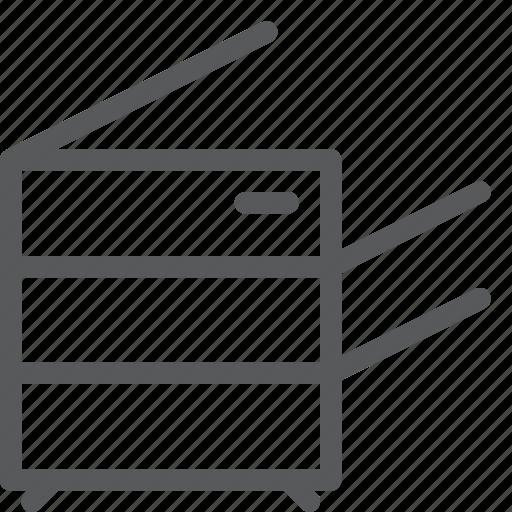 copy, duplicate, machine, office, photocopy, supplies icon