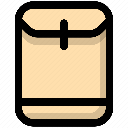 archives, briefcase, documents icon