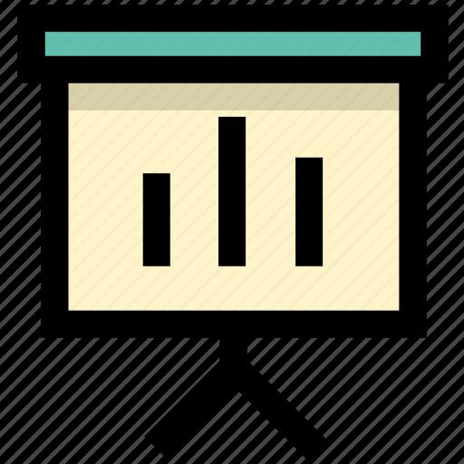 report, statistics, trend icon
