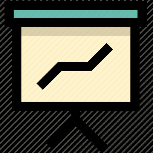 analysis, report, trend icon