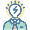 brainstorming, business, idea icon
