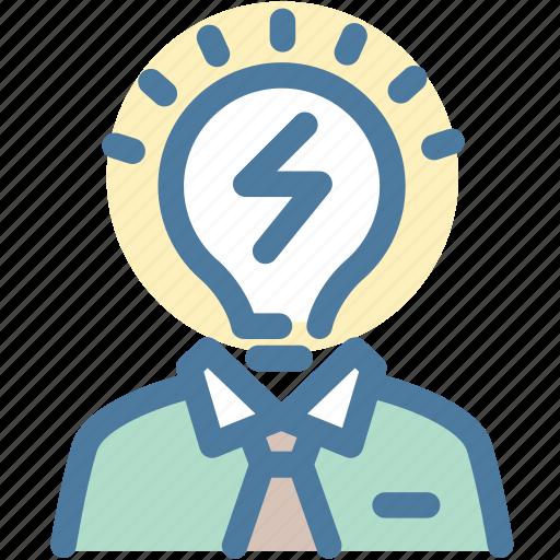 brainstorming, business, idea icon