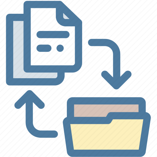 archive, case, documents, files, folder, office, project icon