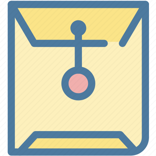 document, envelope, letter, mail, office, post, sealed icon