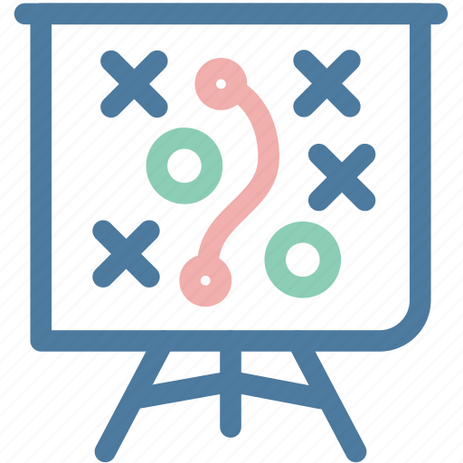 aim, blackboard, office, plan, planning, strategy, tactic icon
