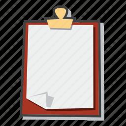 clipboard, document, file icon