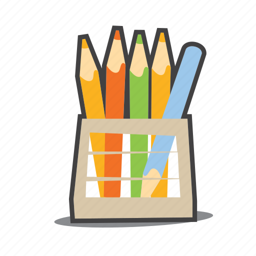 Crayons, pencil, design icon - Download on Iconfinder