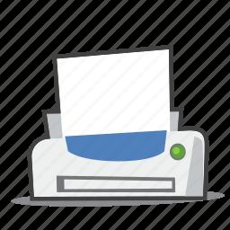 office supplies, printer, printing icon