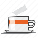 coffee break, cup, tea icon