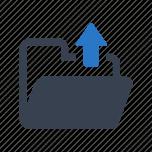 arrow, document, file, folder icon