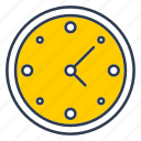clock, office, time, watch, work icon