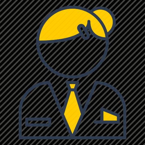 avatar, female, office, profile, user icon