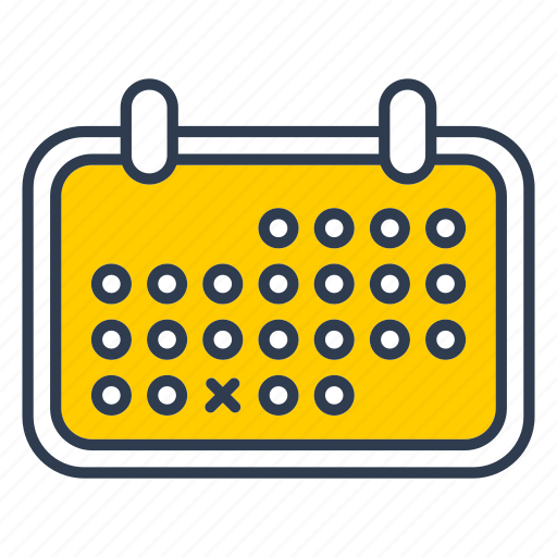 calendar, date, day, office, schedule icon