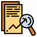 analysis, chart, data icon