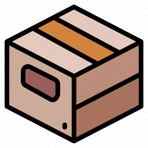 box, cardboard, delivery, package icon