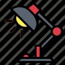desklamp, lamp, office, tools icon