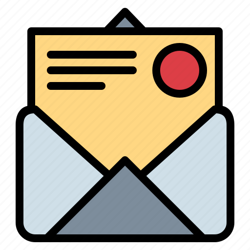 contact, envelope, letter, message icon