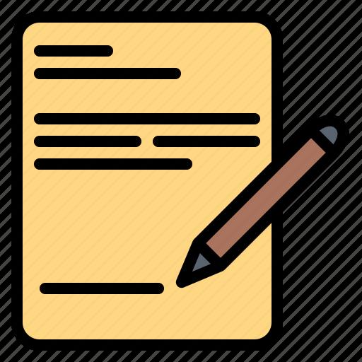 pen, signature, write, writing icon