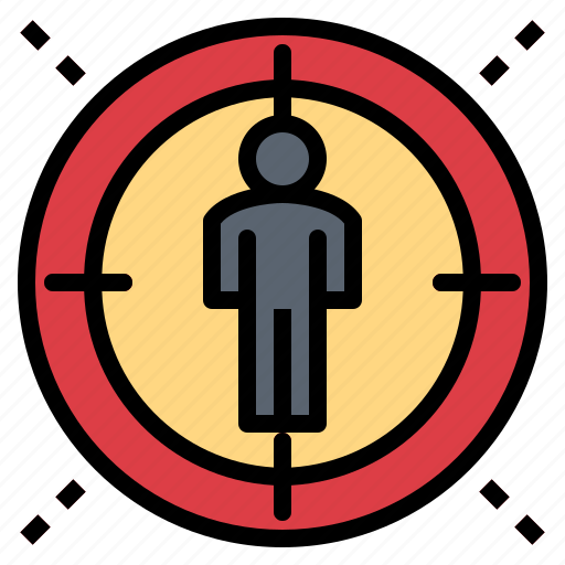 group, person, target, team icon