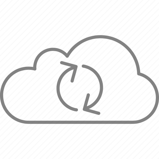 arrow, cloud, download, downloading, interface, loading, upload icon