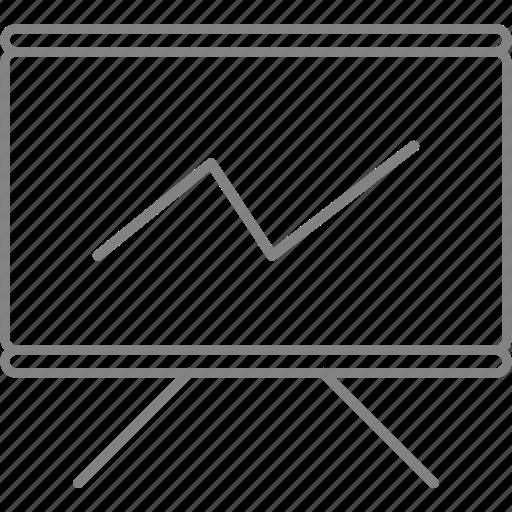 benefits, diagram, graphics, growth, line, statistics, stats icon