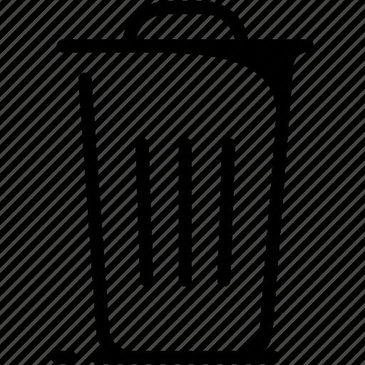 delete, office, rubbish, trash, work icon