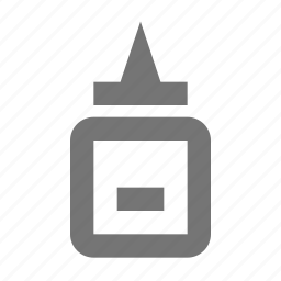 attach, glue, office, paste, repair, stationery, supplies, tool icon