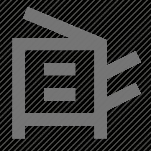 photocopy, print, printer icon