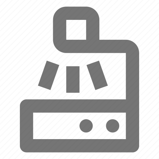 device, office, overhead, projector, screen, stationery, supplies, tool icon