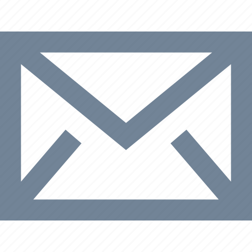 correspondence, e-mail, envelope, letter, line, message, office icon