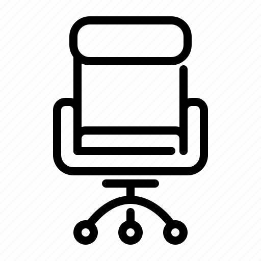 business, chair, executive, office, seat icon