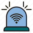 internet, of, siren, thing icon