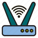 internet, of, router, thing, wifi