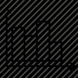 bar chart, bar graph, chart, statistics, stats icon