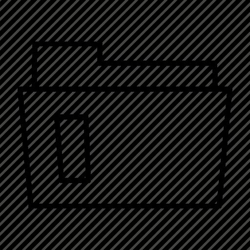 documents, folder, portfolio icon