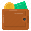 pocketbook, wallet, billfold, purse, notecase